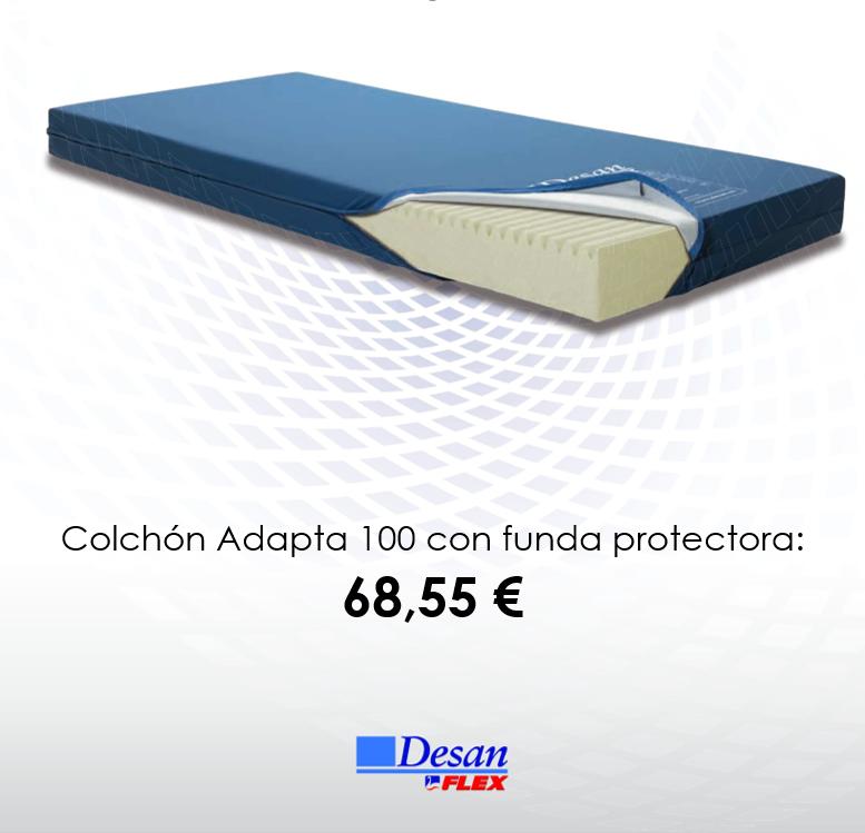 Colchón Adapta 100 con funda protectora